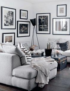 Neutral- black, white, gray
