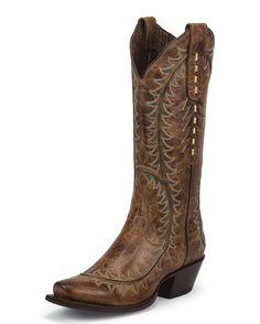 Nocona Crazy Tan Western Boots | Gold/Tan