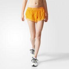 c6f748e4fc39 Running adizero Shorts - Gold Shorts Adidas