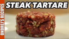 Classic Steak Tartare Recipe | How To Make Beef Tartare | Raw Beef Steak  I love beef and steak tartare is my favorite!  Many people are afraid of making steak tartare at home. There is no need to worry if you know from where your beef is.   I prefer to go to local butcher before grocery store because you can ask your butcher about how old meat is and he will even let you smell the meat before buying. If you don't have a local butcher you can try to visit local food wholesale which usually…