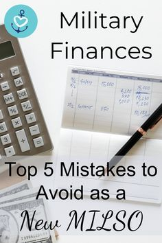 Have you ever wondered where your money goes each month? I sure have! As a new military spouse, here are the top 5 finance mistakes you will want to avoid!