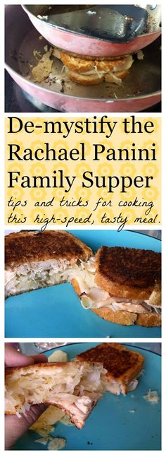 The Beating Hearth: De-Mystifying the Rachael/Reuben Pannini Family Supper Cooking Tips, Cooking Recipes, Sandwich Ideas, Paninis, Corned Beef, Wrap Sandwiches, Hearth, Burgers, Roast