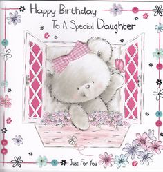 First Birthday Quotes, Birthday Wishes For Daughter, Birthday Images, Birthday Cards, Crafts For Kids, Arts And Crafts, First Birthdays, Gifts, Bday Cards