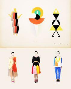 s5 Cubism Fashion, Art Deco Fashion, Fashion Design, Sonia Delaunay, People Illustration, Graphic Illustration, Bauhaus Textiles, Futurism Art, Art Deco Stil