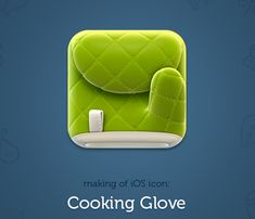 Cooking Glove iOS App Icon