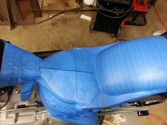 WISNER CYCLES, Anamosa Iowa: How-to build a custom fiberglass seat pan for your motorcycle