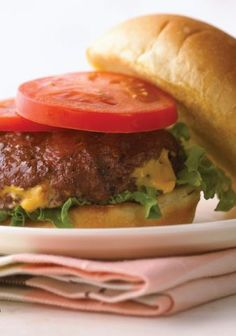 Inside-Out Bacon Cheeseburgers — Some burgers are all about the toppings. This cheeseburger celebrates what's on the inside: crisp bacon, melted cheese and creamy ranch dressing.