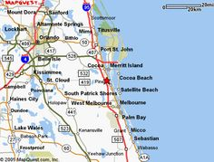 Map Of Melbourne Beach Florida.Map Of Florida Showing Treasure Coast Google Search Stuart