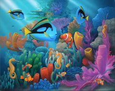 Friends of the Sea under sea