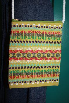 Shoulder Bag Native American design multicolor by MISSJEANSTHINGS, $15.00