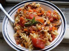 Healthy & Delicious: Mushroom 'Bolognese' | Serious Eats : Recipes