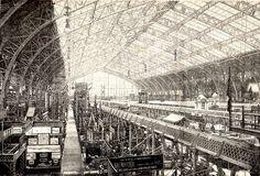 Gallerie des Machines, Paris, 1889