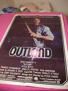 Vintage 1 Sheet Outland Movie Poster 810031 by MAYSVTG on Etsy, $19.95
