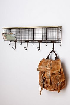 Wire Wall Cubby #anthropologie
