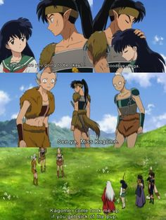 Inuyasha - Poor Koga didn't get the girl :( He's actually my favorite character. He's so cool.