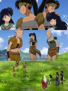 Inuyasha - Poor Koga didn't get the girl :(