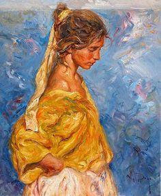 José Royo - La Blusa Amarilla - España Arte - Datos de la Obra