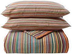 bed-fashion Bettbezug, Flanell, mehrfarbig, King, 240x 220cm, 3-teilig