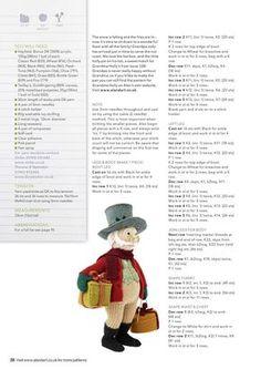 Merely Knitting Christmas 2016 - 轻描淡写 - 轻描淡写 Crochet Dolls Free Patterns, Knitting Patterns Free, Free Knitting, Crochet Toys, Baby Knitting, Knitting Toys, Mr Christmas, Christmas Paper Crafts, Christmas Knitting
