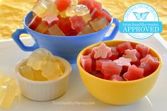 "EZine RECIPE: GUMMIES - I think I'll try this but ""tweak it"" by adding Vit. C and using an immune boosting, fruit flavored tea in place of the water! Trim Healthy Recipes, Trim Healthy Mama Plan, Thm Recipes, Gelatin Recipes, Healthy Desserts, Healthy Food, Thm Diet, Diet Menu, Thm Fuel Pull"