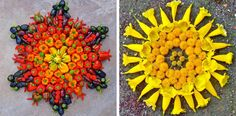 "Flowers, cones, leaves – nature is never short on extraordinary inspiration. Kathy Klein deconstructs objects of our environment and uses the parts to create unique flower circles called ""danmalas"". From the sanskrit ' ..."