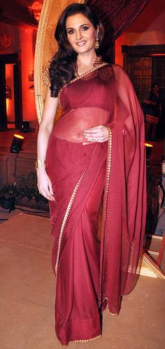 Monica Bedi in TV show, Saraswathichandra #Bollywood #Fashion