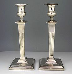Reed & Barton sterling silver candlesticks