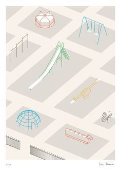 These evocative line drawings could be useful in Playground - Linus Kraemer Architecture Graphics, Architecture Drawings, Graphic Design Illustration, Digital Illustration, Planer Layout, Isometric Drawing, Ohh Deer, Graphisches Design, Illustrations