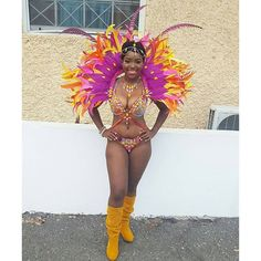 Love this Costume from Jamaica Carnival last weekend
