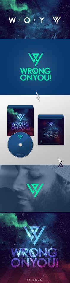 W R O N G O N Y O U :: Logo + Cover Album on Behance