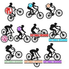 Mountain Bike Bicycle Cuttable Designs SVG, DXF, EPS use with Silhouette Studio & Cricut, Vector Art, Vinyl Decal Digital Cutting Cut Files by CuttableSVG on Etsy https://www.etsy.com/listing/286372847/mountain-bike-bicycle-cuttable-designs