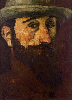 Aristide Maillol (French, 1861-1944)  - Self-Portrait,1884