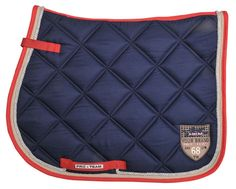 HKM ProTeam SADDLECLOTH Sporty with soft polar fleece lining, anatomically formed, saddle girth keepers. Quick dry easy care.  Assorted Colours http://www.rightasrein.co.uk/hkm-sporty-saddlecloth £21.50