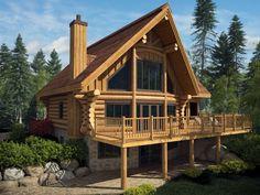 "Harkins Log house model ""du Lac"" in 3D  - Harkins"