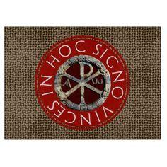 Chi Rho Symbol Cutting Board