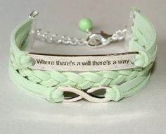 Pick COLOR / SIZE   Where There's a Will There's a by BeMyCharm, $10.99