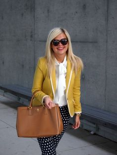 Spiegel Jabot Blouse as worn by @Krystin Lee #SpiegelStyle | Shop now: http://www.spiegel.com/jabot-blouse-44206.html