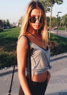 // Pinterest @esib123 //  #style #inspo  casual summer outfit