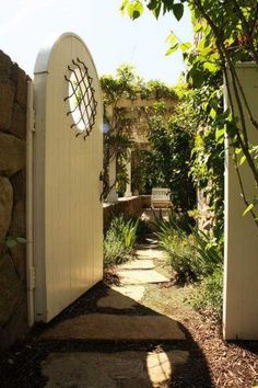 That special something awaits you behind that secret Garden Gate.. Love it