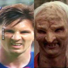 I didn't know Messi is also doing movies