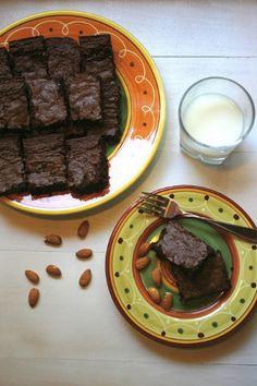 Rich, Decadent, Blissful Brownies, gf, gluten free, gluten free dessert recipe, gluten free brownies