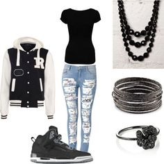 polyvore outfits for teenage girls with jordans - Google Search uggcheapshop.com    $89.99  pick it up! ugg cheap outlet and all just for lowest price # boots for this winter