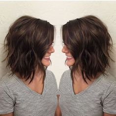 Awesome lobs styling haircut 44