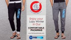 Enjoy your Lazy Winter in Our Comfortable Pajamas.
