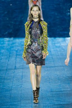 Pin for Later: Step Into Mary Katrantzou's Metallic Midsummer Night's Eve Mary Katrantzou Spring/Summer 2016
