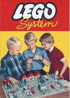Vintage Lego, Vintage Box, Life In The 1950s, Lego Boxes, Lego System, Corgi Toys, Lego Construction, Lego Worlds, Batmobile