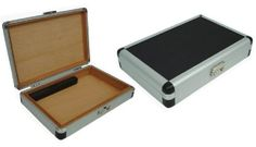 Visol Products Augustine Aluminum Travel Cigar Humidor -- Find out more about the great product at the image link. Cigar Humidor, Cigars, Healthy Living, Free, Humidifier, Travel, Image Link, Products, Viajes