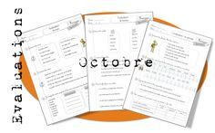 Evaluations d'octobre. CE1 - Bout de gomme