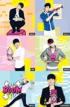 VIXX ♡ N , Leo ,Ken, Ravi , HongBin and Hyuk We get to see them in Dallas, TX on November 8th eeeeeek