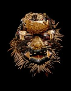 FACE MASK culture We people creation date early 20th century